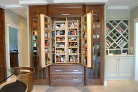 kitchen cabinet pantry kitchen cabinets pantry contemporary with appliance garage image by brook interiors storage cabinet