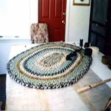 make a braided rug from recycled wool