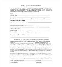 Hipaa Authorization Form Impressive 48 Sample Medical Authorization Forms Sample Forms
