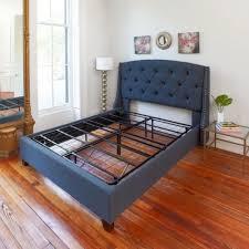 Full Size Beds Frame Metal Mattress Platform Foundation Base Box ...