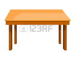 table clipart. pin wood clipart table #8
