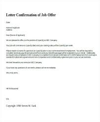 Confirm Letter Of Employment Sample Letters Employment Letter Verifying Confirming Status
