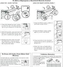 how to program genie garage door opener remote genie garage door opener attractive genie garage door