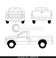 clip art of back of pickup truck - Google Search | Tailgating ...