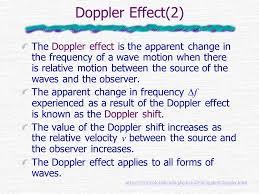 doppler effect 1 stationary source stationary observer moving source 2 doppler