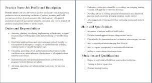 Nursery Nurse Sample Resume Nursery Nurse Job Description Template Business Plan Template 23