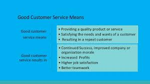 Great Customer Service Means Effective Customer Service Powerpoint Designed By Deanna Senica