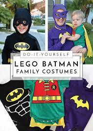 lego batman costume with batgirl robin too