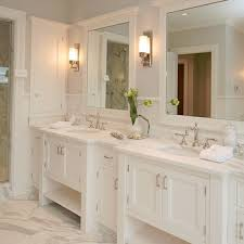 Attractive Double Vanity Mirrors For Bathroom Modern Bath Mirror