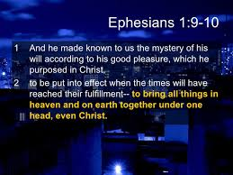 Image result for mystery of christ verse