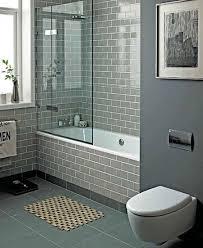 Gray bathroom 'Perfect sanctuary' using Smoke Grey subway tiles