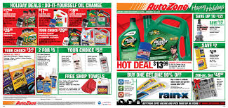 hot deal autozone