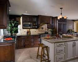 Cabinet And Lighting To Offset The Depth Of Dark Cabinets And Equally Grey Counters Island Cabinet Lighting I