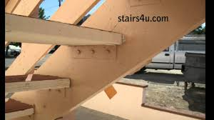 Four Methods For Attaching Wood Treads To Stair Stringers Youtube