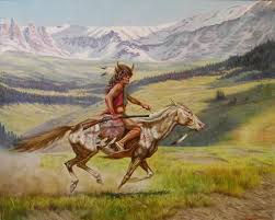 famous native american paintings painting ideas