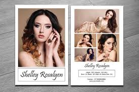 Model Comp Card Template Modeling Comp Card Ms Word
