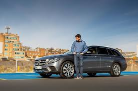 Starting with a 3.2l turbodiesel up to a 5.5l supercharged v8. Mercedes E350d 4matic All Terrain 2019 Long Term Test Review Car Magazine