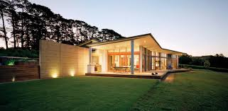 view modern house lights. Striking In Slocombe: Amazing Home Australia Has Views Of The Countryside And An Inviting Style View Modern House Lights