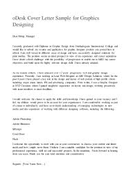 Cool Example Cover Letter For Graphic Design Job For Your Best