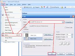 Outlook To Pdf Pdf Converter