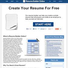 Resume Builder Online Free Resume Builder Online Alternatives and Similar Software 100