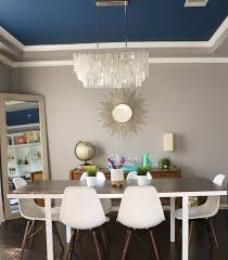 Against The Wall Dining Table A Kailo Chic Life Home Tour Thursday The Dining Room