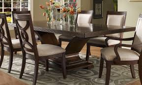 dark wooden dining room chairs