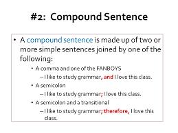 Lesson 2 Compound And Complex Sentences Ppt Download