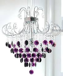 silver and crystal chandelier silver and crystal chandelier with purple drops another way to put it silver and crystal chandelier