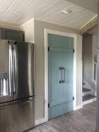 Diy Barn Doors Double Pantry Barn Door Diy Under 90 Bifold Pantry Door Diy