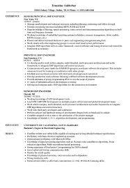 Dsp Engineer Resume Samples Velvet Jobs