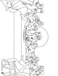 The Last Supper Coloring Page Enjoy