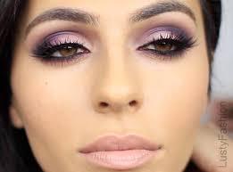 purple wedding makeup for brown eyes 2017 yfashion