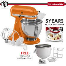 myr 2 699 free kitchenaid ice cream maker attachments kitchenaid 5ksm150psbtg artisan tilt head stand mixer