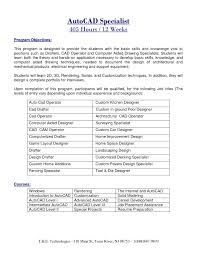 Drafter Resume Free Sample Autocad Drafter Resume Cad Resume Post