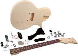 saga lj 10 diy electric guitar kit lp jr style