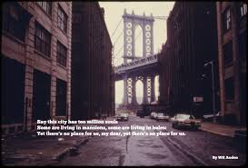 the best poems about new york city boo york city manhattan bridge from brooklyn 70s