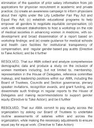 Overwhelming Support For Gender Equity At The Ama