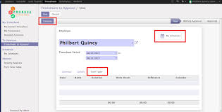 timesheet schedule employee timetable schedules weekly by timesheet odoo apps