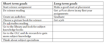 long term and short term career goals examples integrity in government through records management essays