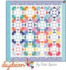 Free Patterns — KD Spain & Daydream Quilt Pattern by Kate Spain Adamdwight.com