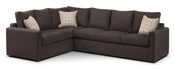 sectional sofa bed. Interesting Sectional Serena 2Piece Sectional With RightFacing Queen Sofa Bed  Nutmeg To