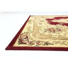 10x10 square rug red beige fl square rug x free today 10x10 square wool rug