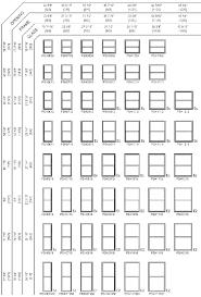 Egress Window Sizes Chart Patiodiningset Co