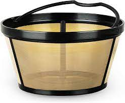 Besides good quality brands, you'll also find plenty of discounts when you shop for coffee filter gold during big sales. Amazon Com Mr Coffee Larger Gold Tone Reusable Coffee Filter Kitchen Dining