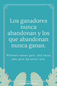 Inspirational Quotes In Spanish Beauteous The Best Spanish Motivational Quotes