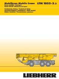 Liebherr Ltm 1055 3 2 Specifications Cranemarket