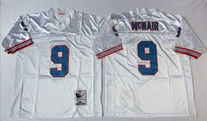 Jersey And Mcnair Mitchell Throwback Steve Ness Stitched White Oilers 9 Nfl
