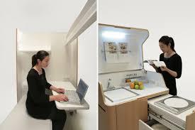 japanese office furniture. Atelier OPA Kenchikukagu Japanese Design Transformable Transformer Furniture Kitchen Office I