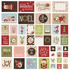 Simple Stories Holly Jolly Sn P Cards